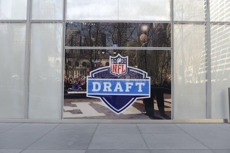 Traite de NFL photo stock