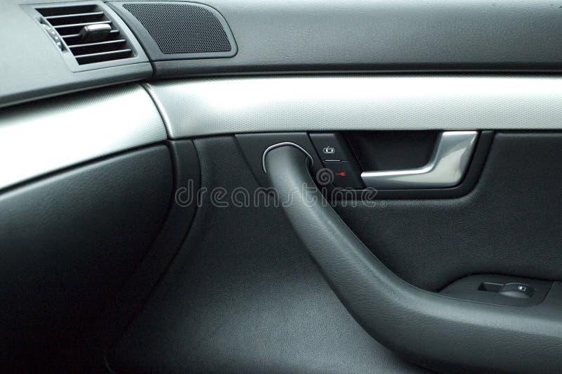 Traitement de trappe de luxe de véhicule images libres de droits
