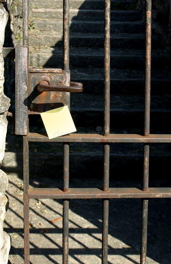 Traitement et post-it images libres de droits