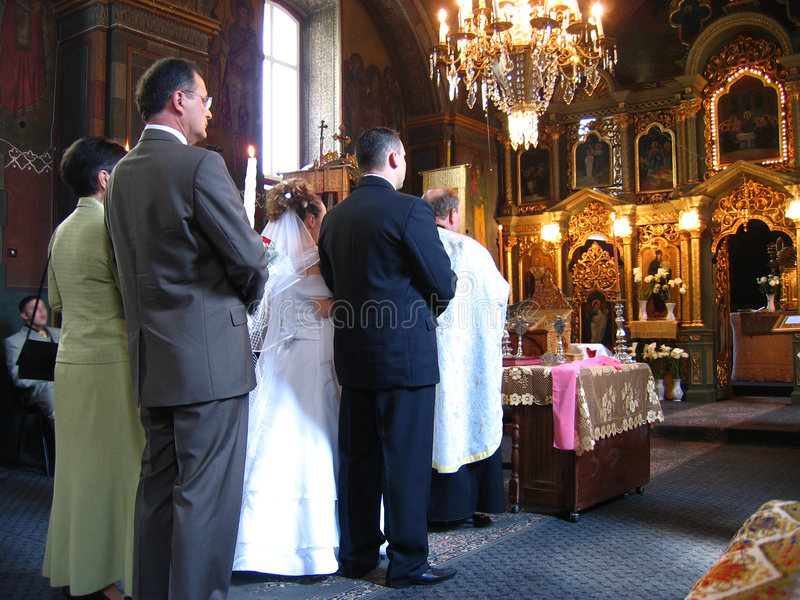 Download Traitement Wedding photo stock. Image du orthodoxe, coutumes - 741520