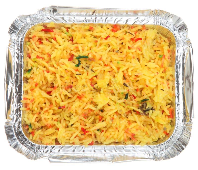 Traiteur indien de riz de Pilau photos libres de droits