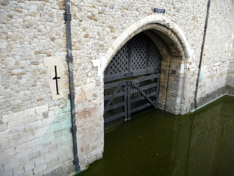Download Traitors Gate Tower Of London 5 Stock Image - Image: 5849107