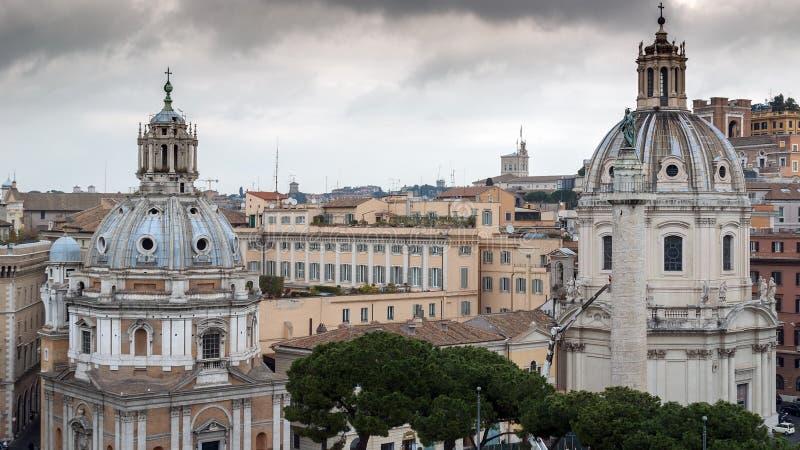 Column of Trajan stock image