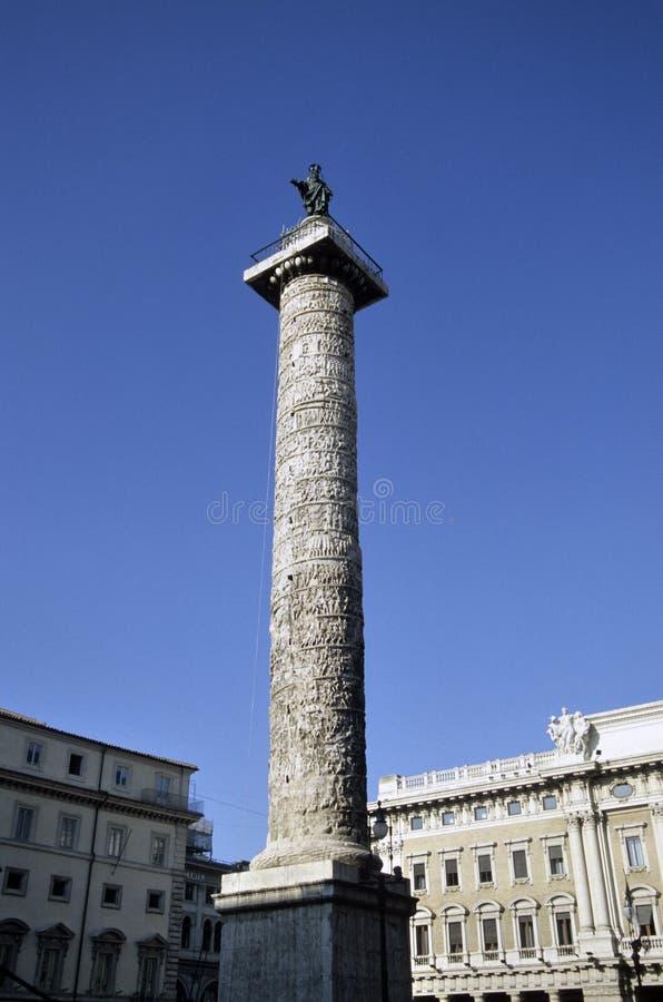 trajan kolonn arkivbild