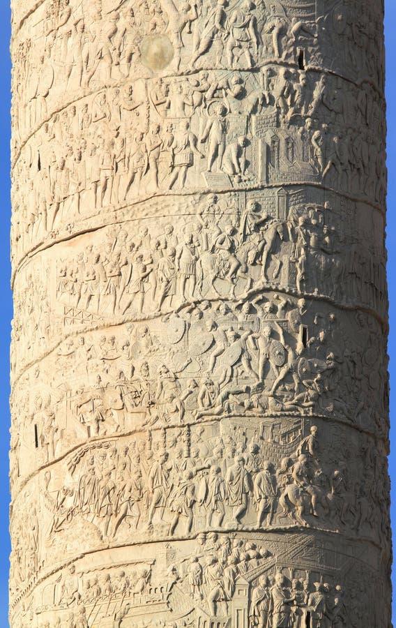 Download Trajan's Column stock photo. Image of sculpture, roma - 25434070
