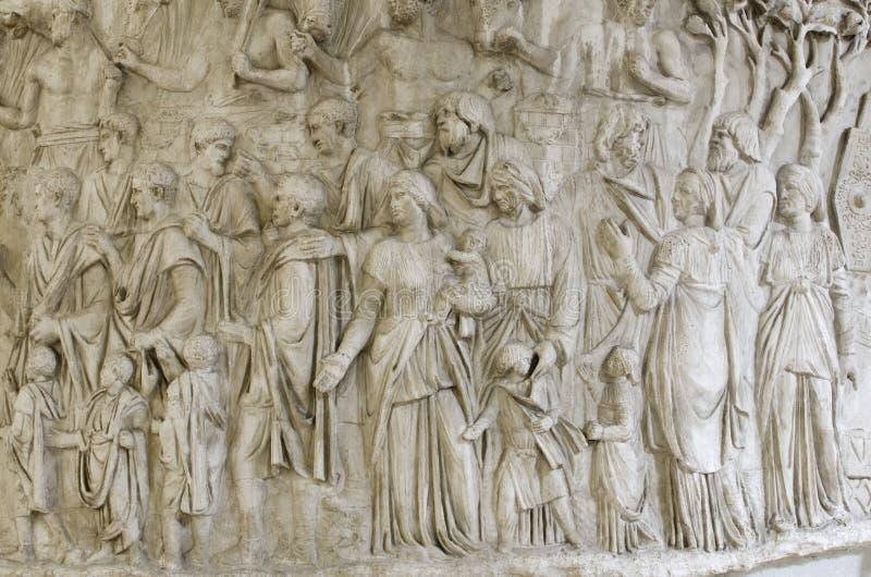 Download Trajan's column detail editorial stock photo. Image of roma - 34111598