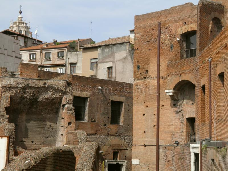 Download Trajan's Forum And Market In Rome Stock Image - Image: 21400221