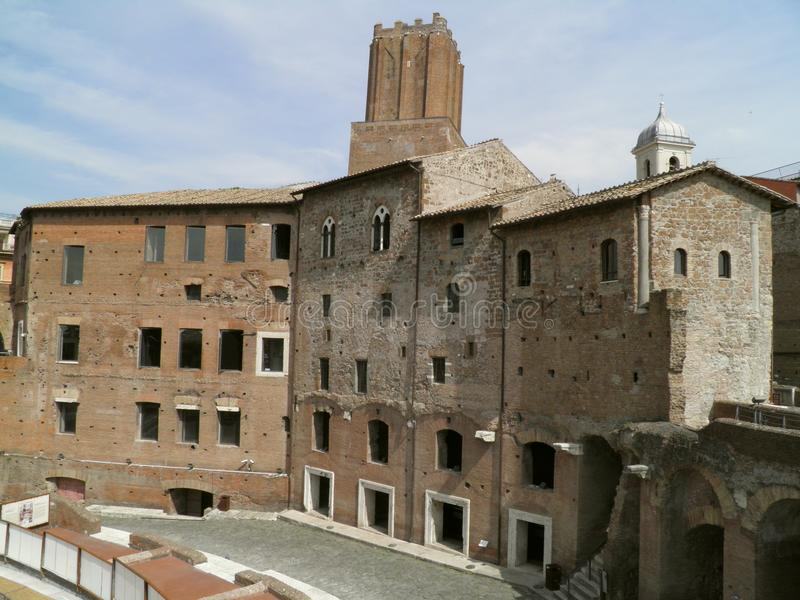 Download Trajan's Forum And Market In Rome Stock Image - Image: 21400249