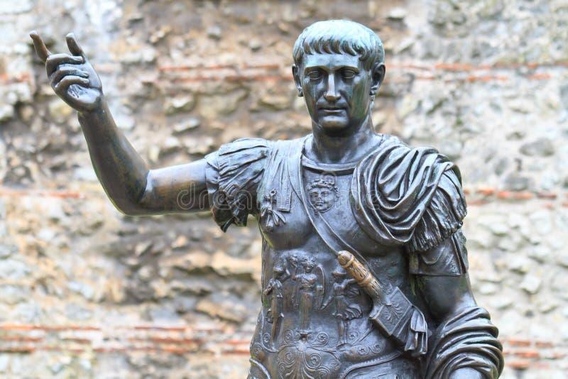 Download Trajan Statue stock image. Image of face, majestic, julius - 18862815