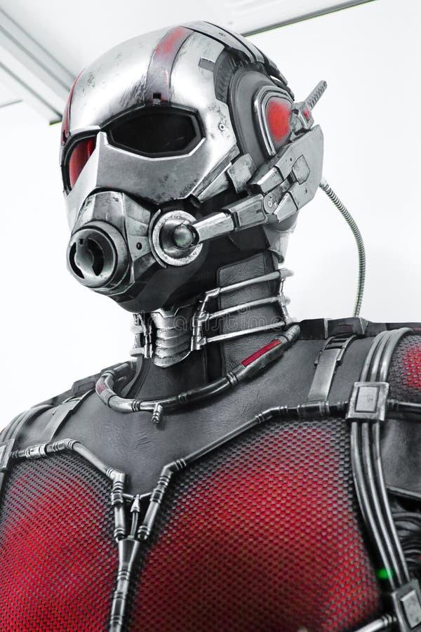 Traje de Ant Man imagem de stock