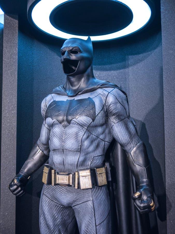 Traje de Batman fotos de archivo