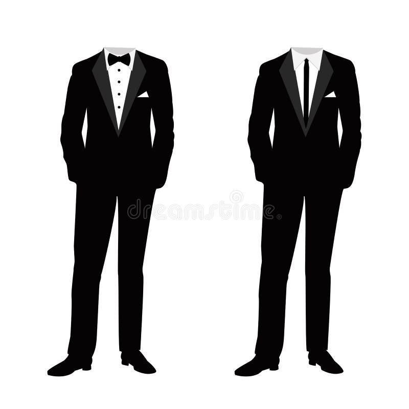 Traje de la boda del ` s de los hombres libre illustration