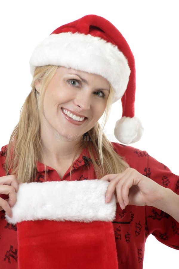 Traje de la Navidad foto de archivo libre de regalías