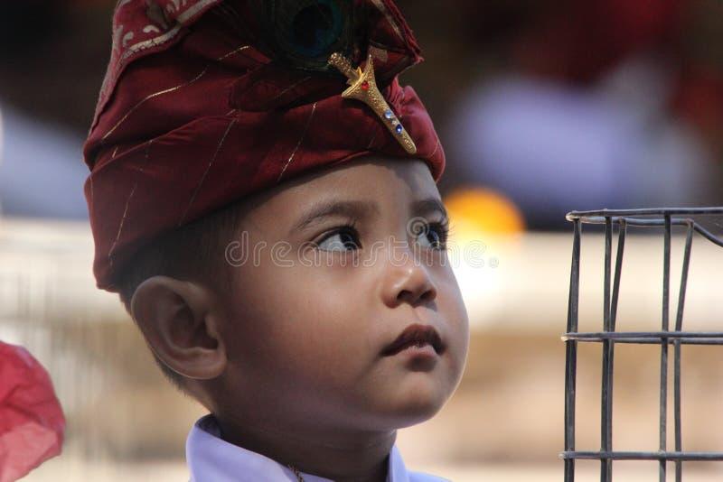 Traje do Balinese fotos de stock