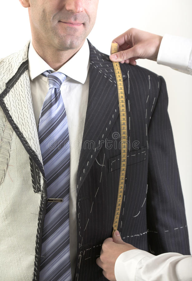 traje específico Semi-listo, elegante imágenes de archivo libres de regalías