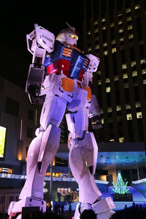 Traje móvil Gundam imagen de archivo
