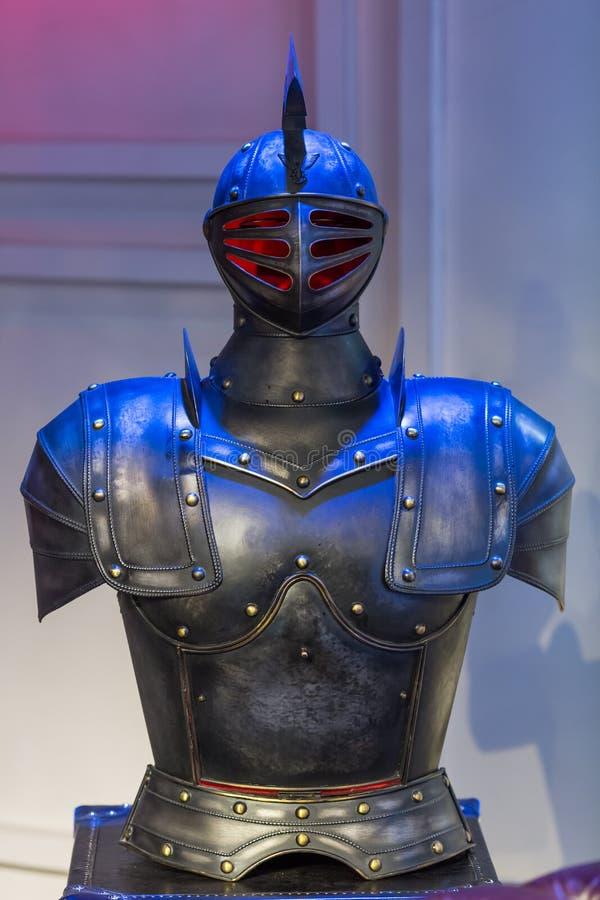 Trajes de la armadura fotografía de archivo libre de regalías