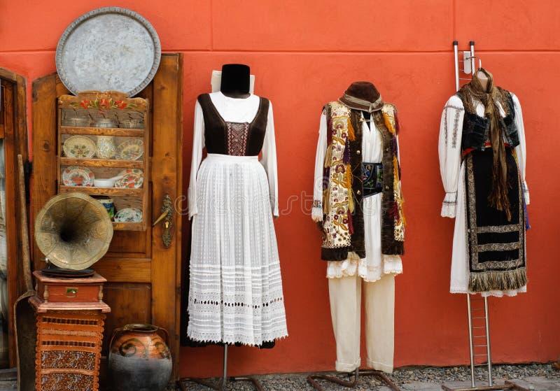 Trajes tradicionales de Transilvania foto de archivo