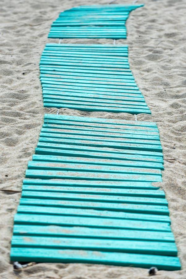 Trajeto à praia fotos de stock