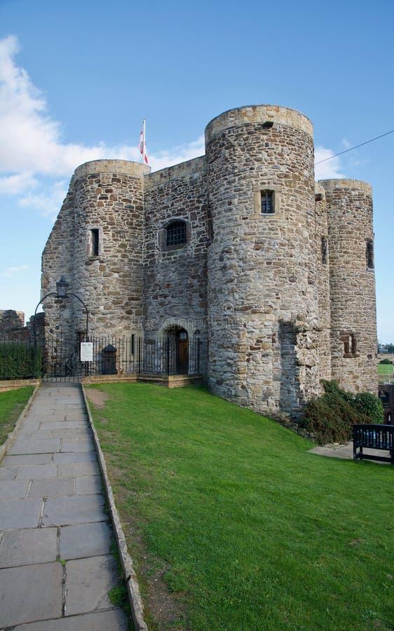 Trajeto ao castelo imagem de stock royalty free