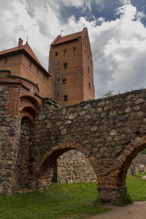 Trakai城堡 立陶宛 免版税库存照片