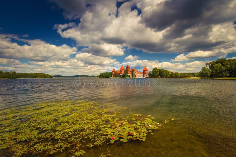 Trakai fotografia royalty free