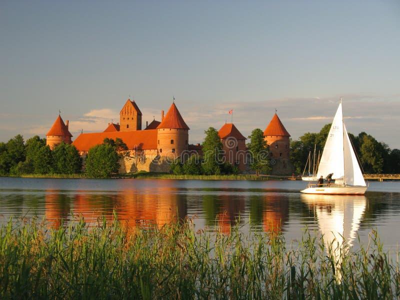 Trakai castle, Lithuania royalty free stock images