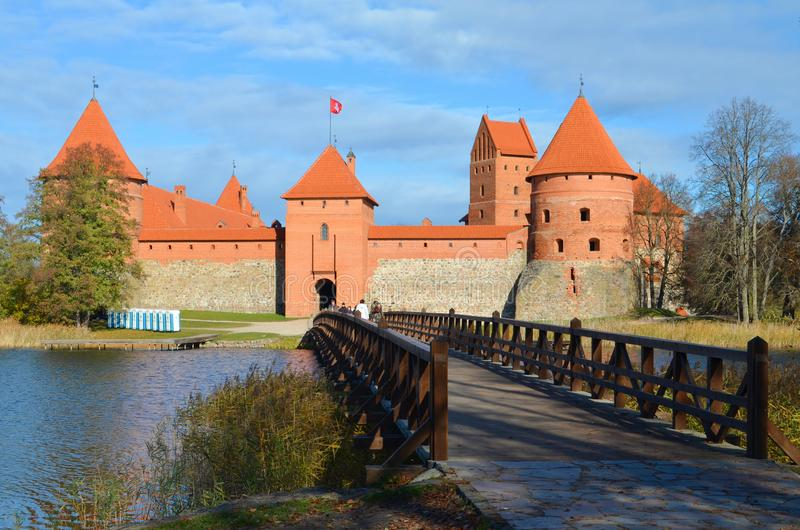 Trakai castle stock photos