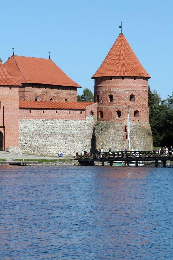 Download Trakai Island Castle stock photo. Image of tower, architecture - 5556468
