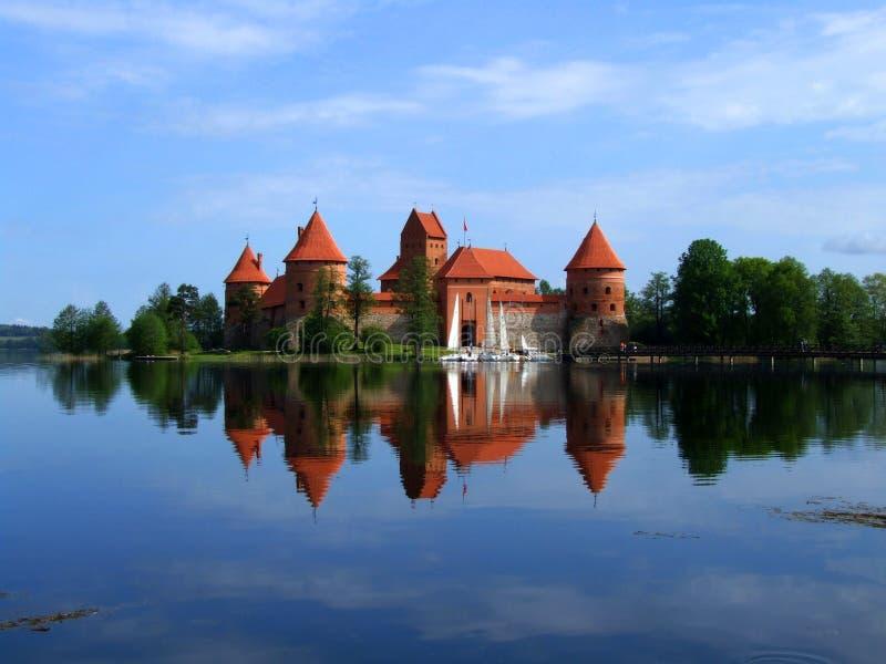 Trakai - kasteel royalty-vrije stock fotografie