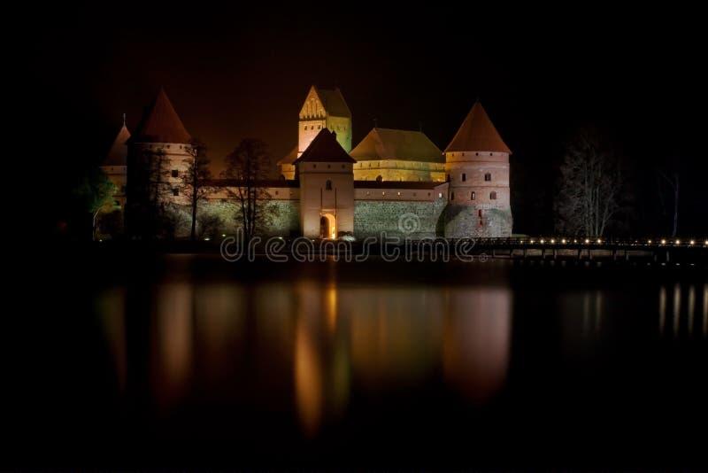 Trakai kasztel zdjęcie royalty free