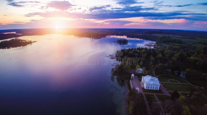 Trakai, Lituania imagenes de archivo
