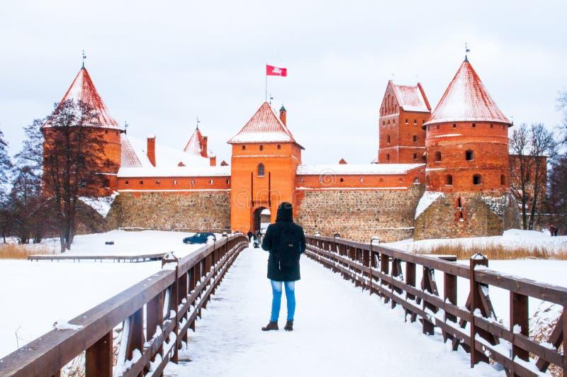 Trakai, Vilnius, Lituania fotografia stock