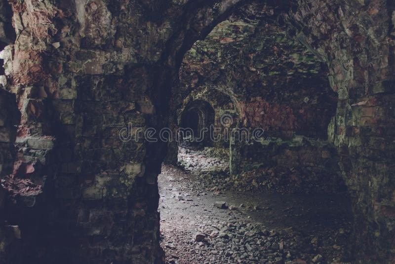 Trakanov堡垒,罗夫诺地区,乌克兰 库存照片