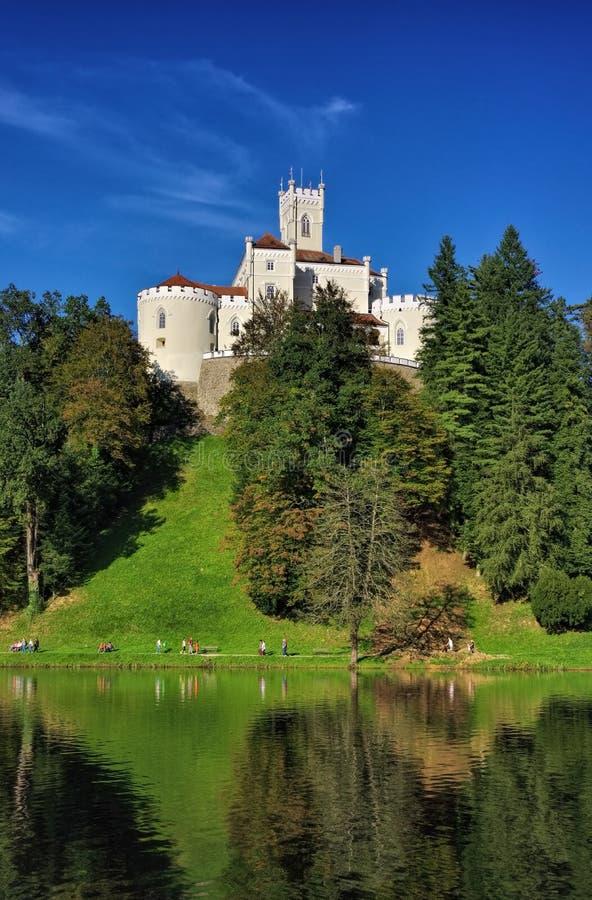 Trakoscan. The Trakoscan castle in Croatia royalty free stock photos