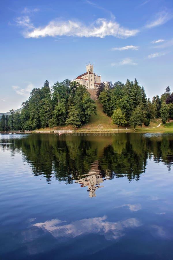 Trakoscan Schloss stockfotos