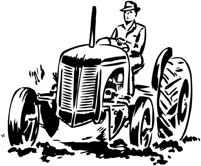 Traktor 2 lizenzfreie abbildung