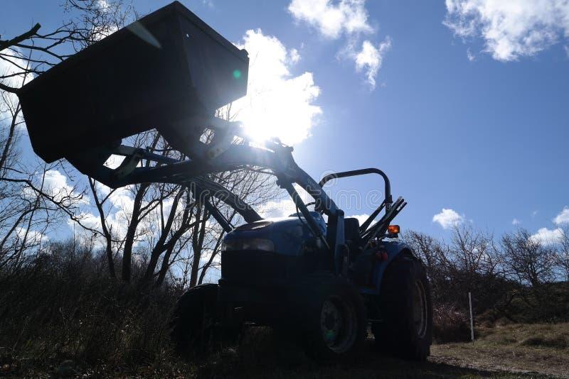 Traktor obrazy royalty free