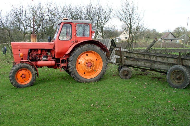 Traktor lizenzfreie stockfotos