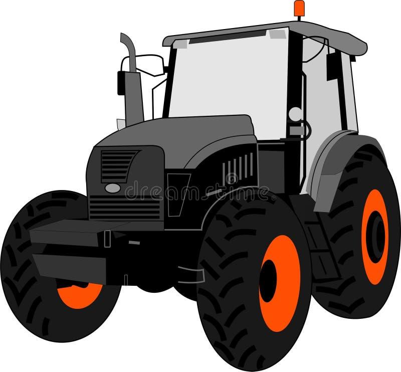 traktor Auch im corel abgehobenen Betrag lizenzfreie abbildung