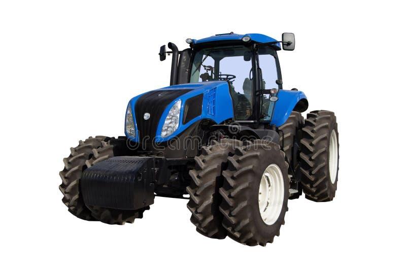 Traktor auf einem weißen Hintergrund lizenzfreie stockfotos