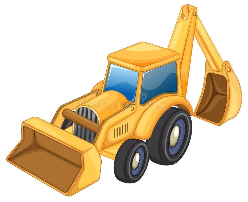 Traktor jcb vektor abbildung