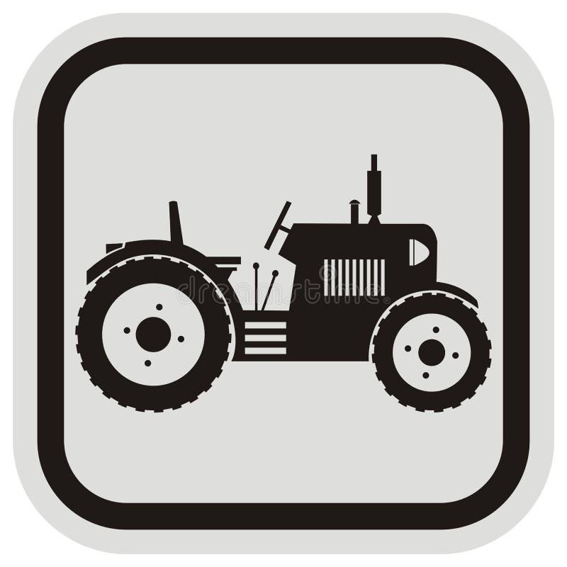 Traktor, Rahmen lizenzfreie abbildung