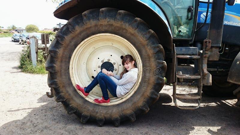 Traktor Seat lizenzfreie stockfotos