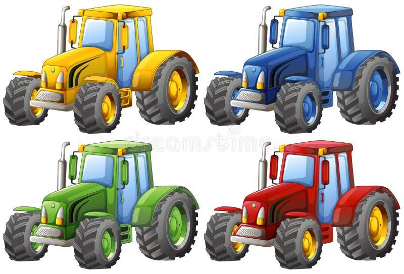 traktoren vektor abbildung