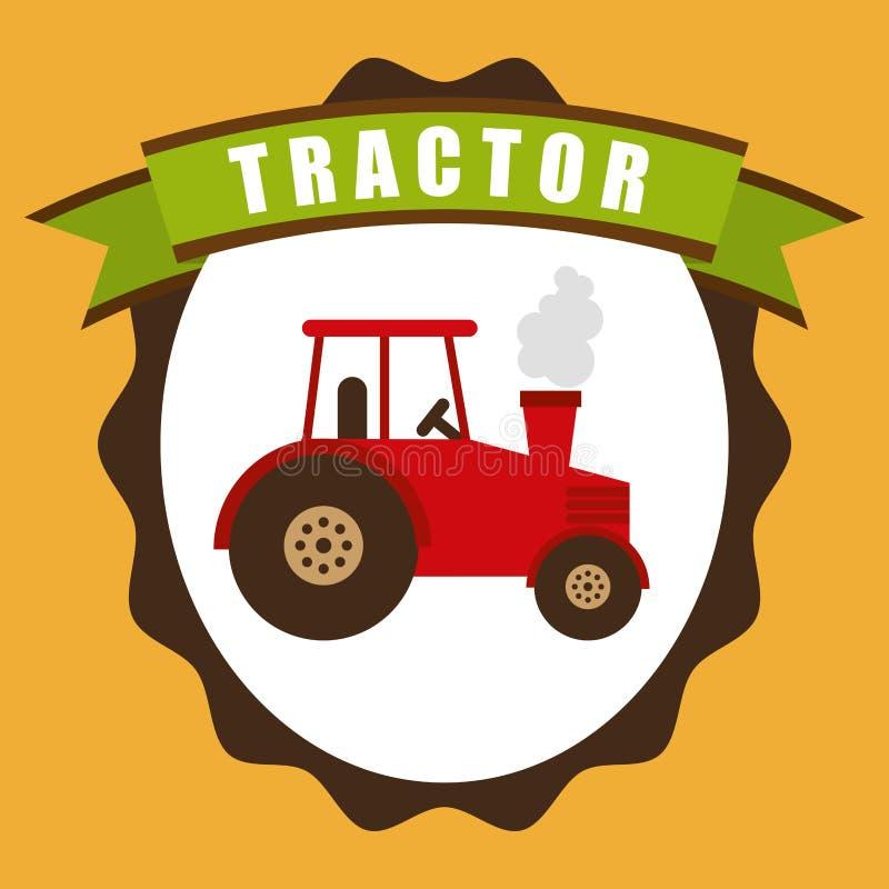 Traktorikone lizenzfreie abbildung