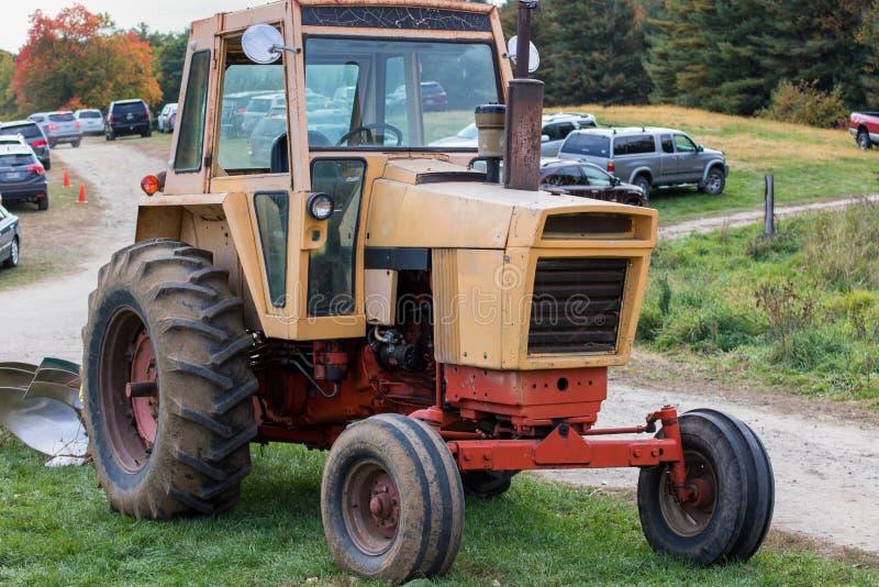 Traktorliv royaltyfri bild