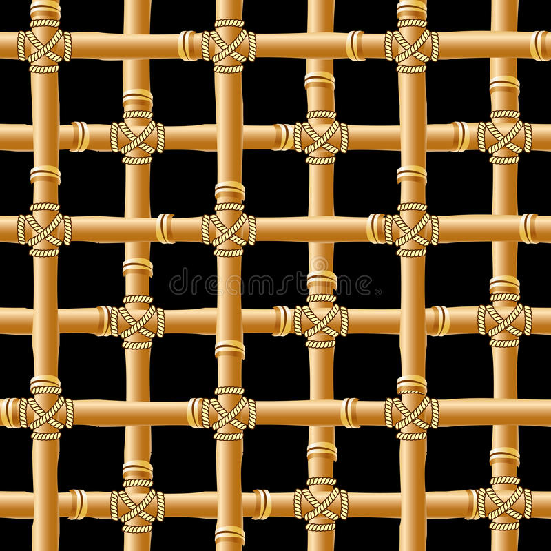Traliccio di bambù royalty illustrazione gratis