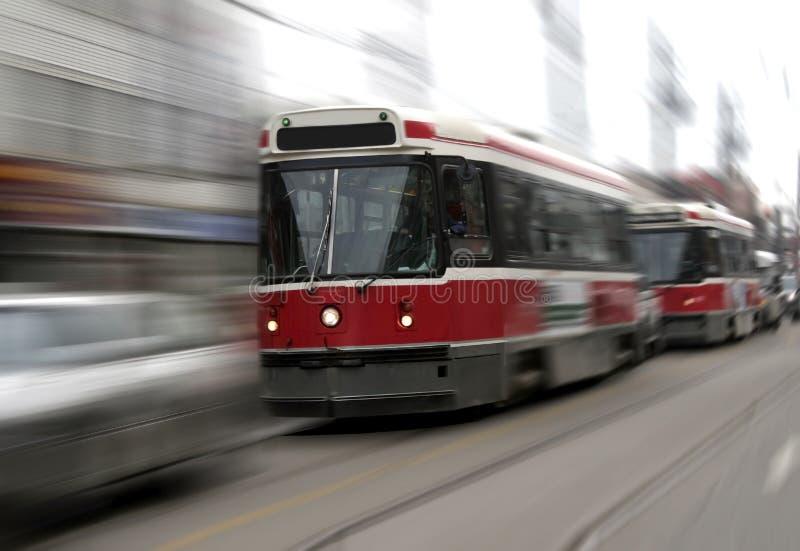tram στοκ εικόνα