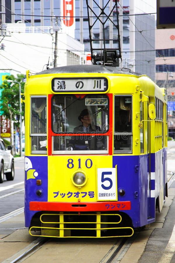 The Tram Editorial Stock Photo